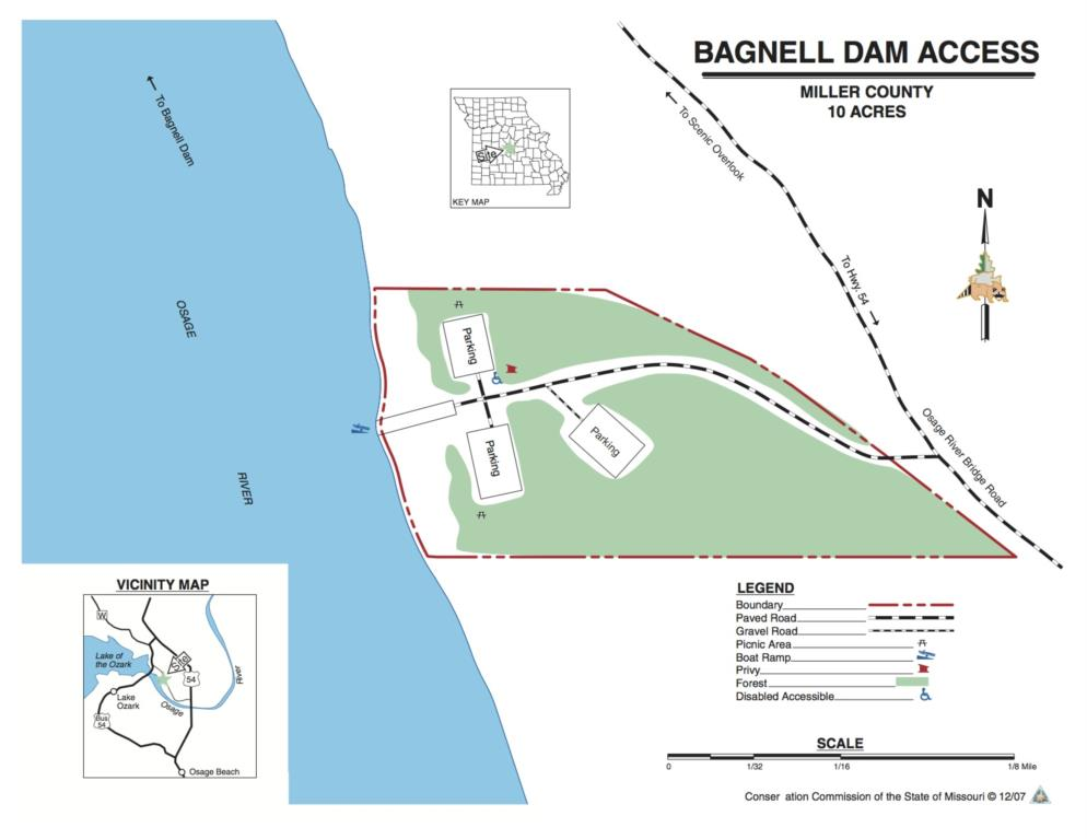 Bagnell Dam Access