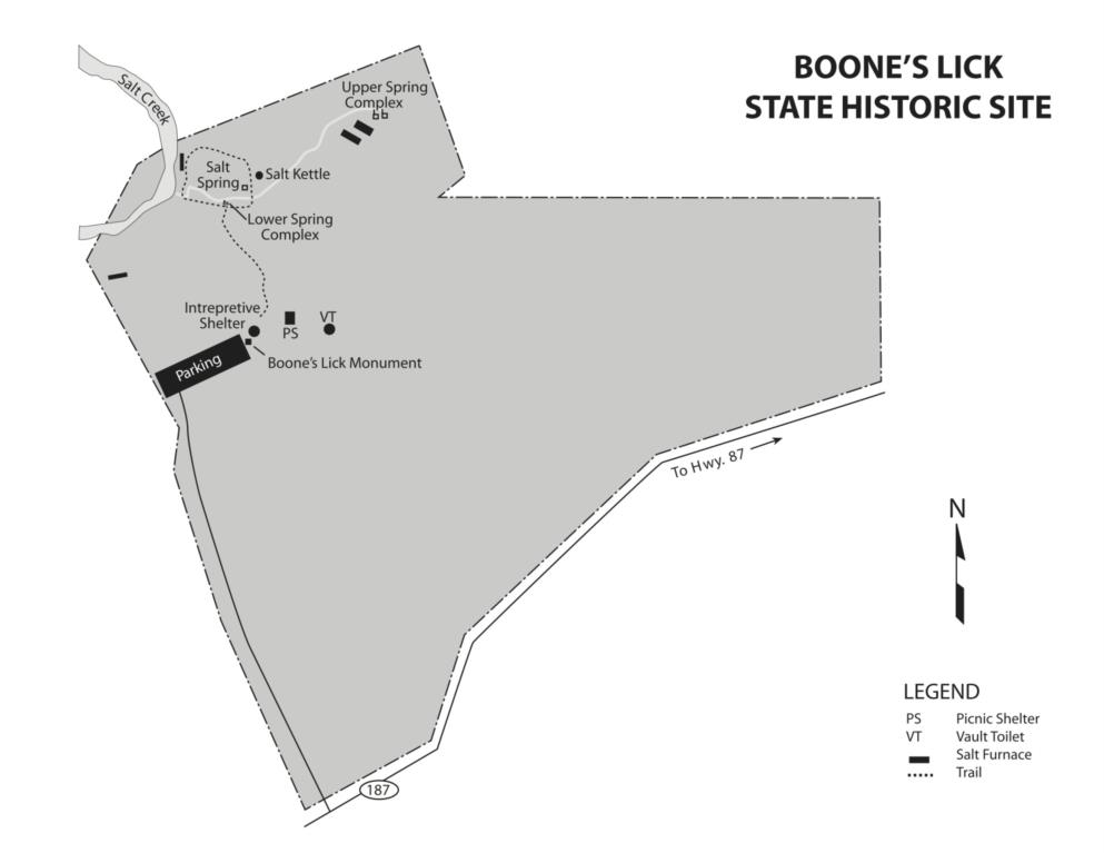 Boone's Lick map